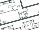 2-комнатная квартира, 64 кв.м., 2/18 этаж, новостройка
