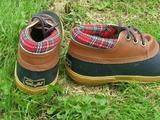 Стильные резиновые ботиночки, бу